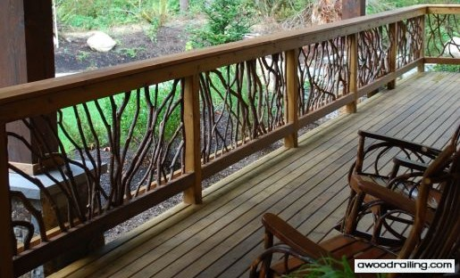 Iconic Picture Mountain Laurel Handrails And Rocking