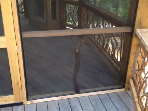 Screened Porch Railing