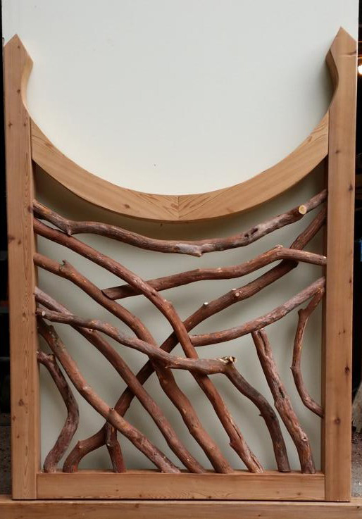 Cedar Beam and Branch Gate