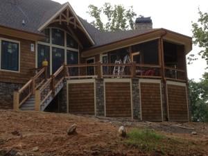 Rustic Home Railing