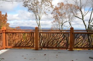 Branch Baluster Deck Railing