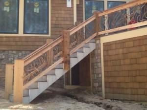 Branch Stairway Railing