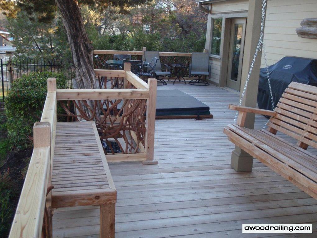 Deck Handrail Mountain Laurel Railing