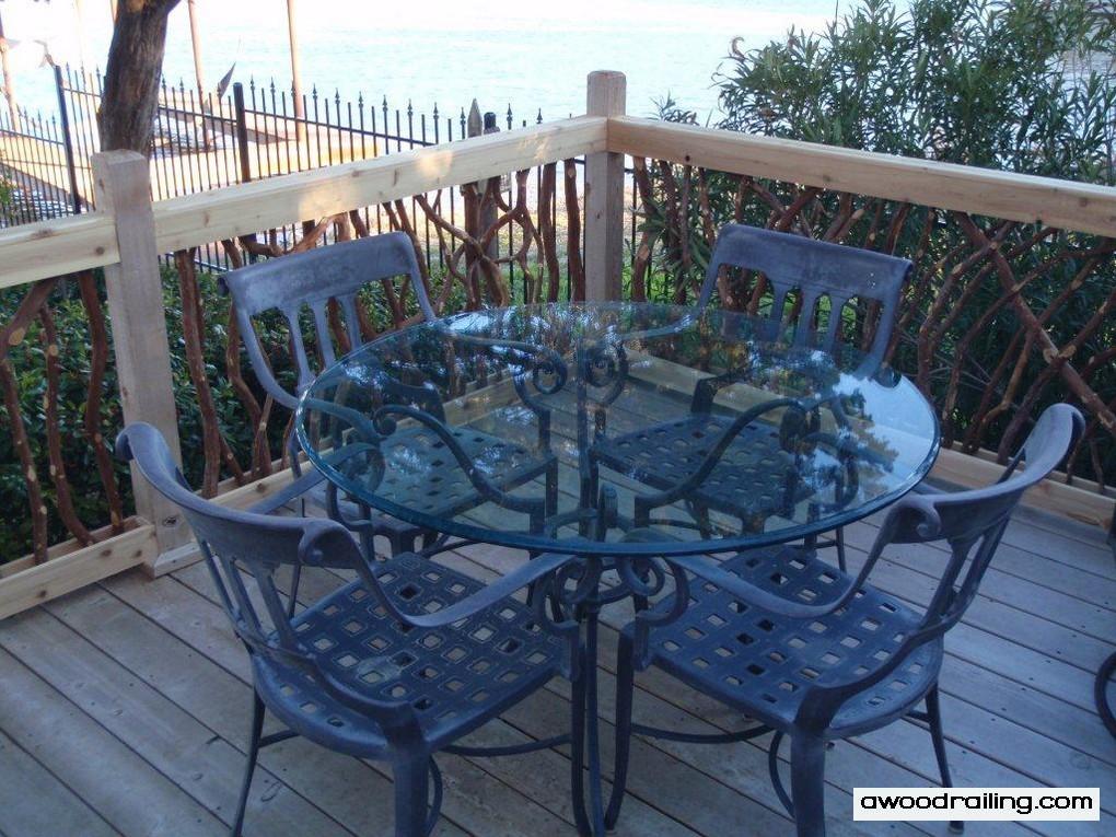 Deck Furniture Railing