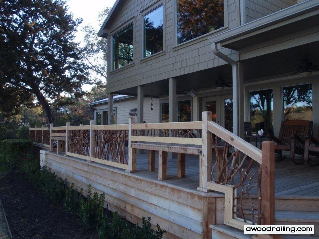 Mountain laurel railing part 4 for Exterior railings