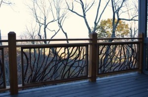 Railings For Mountain Retreat