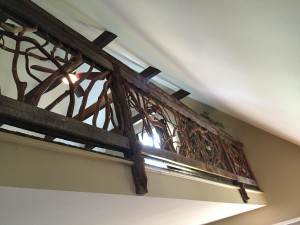 Balcony Branch Handrail