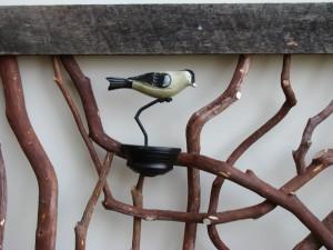 Carved Bird Custom Railing