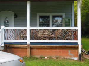 Cherokee Branch Porch Railing