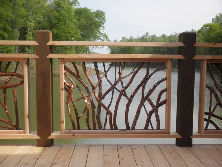 Custom Wood Railing
