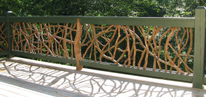Natural Branch Railing