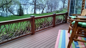Deck Railing Lake