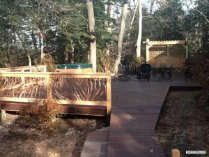 Deck Sun Rails