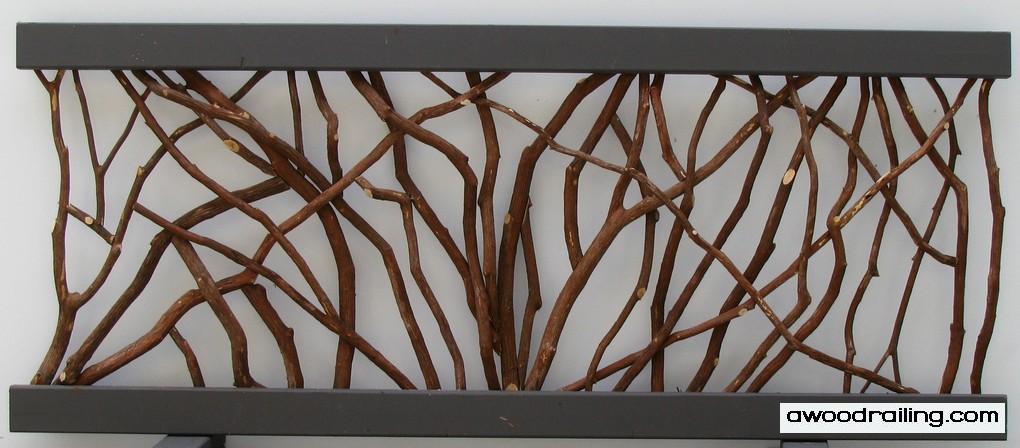 Tree Handrail Section