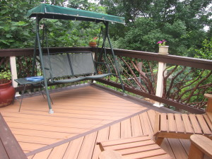 Handrails and Deck Furniture