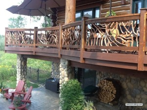 Incredible Curved Railing