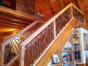 Laurel Stair Railing