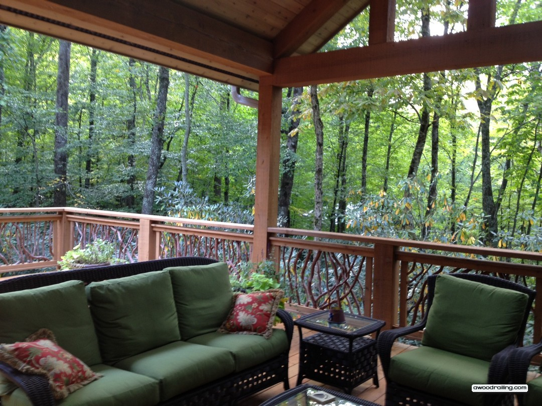 Linville Country Club Deck Railing