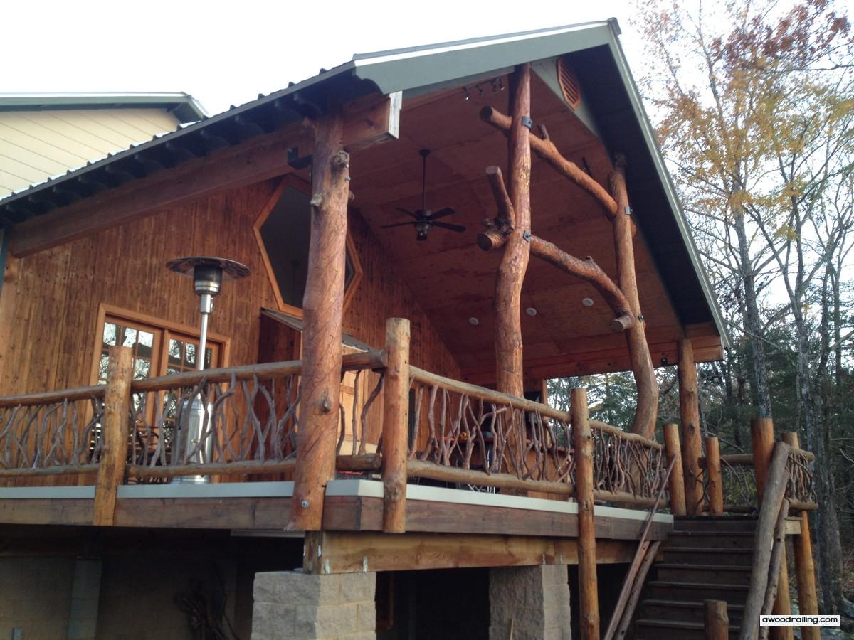 Log Railing Arkansas
