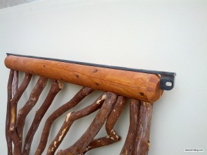 Log Railing Detail