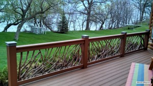 Minnesota Deck Railing