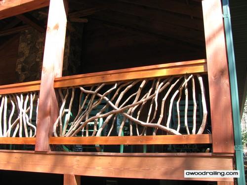 North Carolina Deck Railing Idea