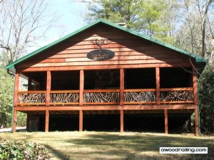 North Carolina Decorative Railing