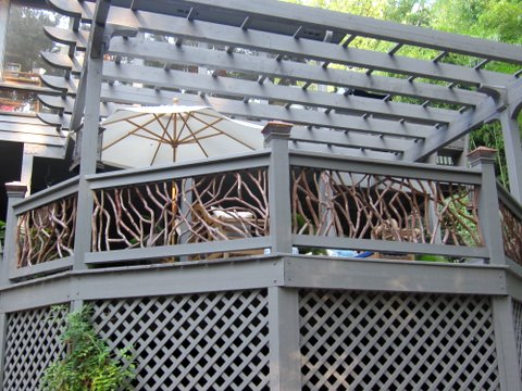 Pergola Deck Railing