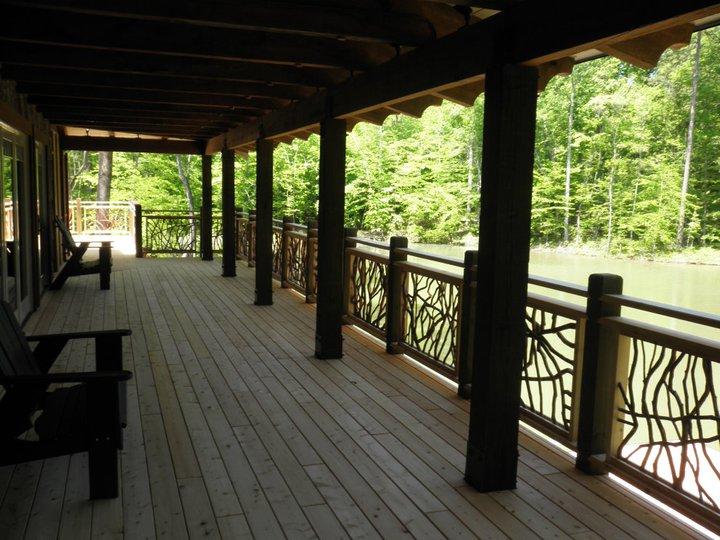 Porch Handrail