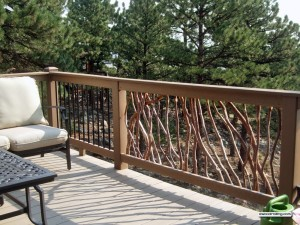 Railing and Deck Furniture
