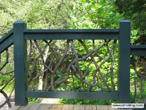 Rustic Handrail