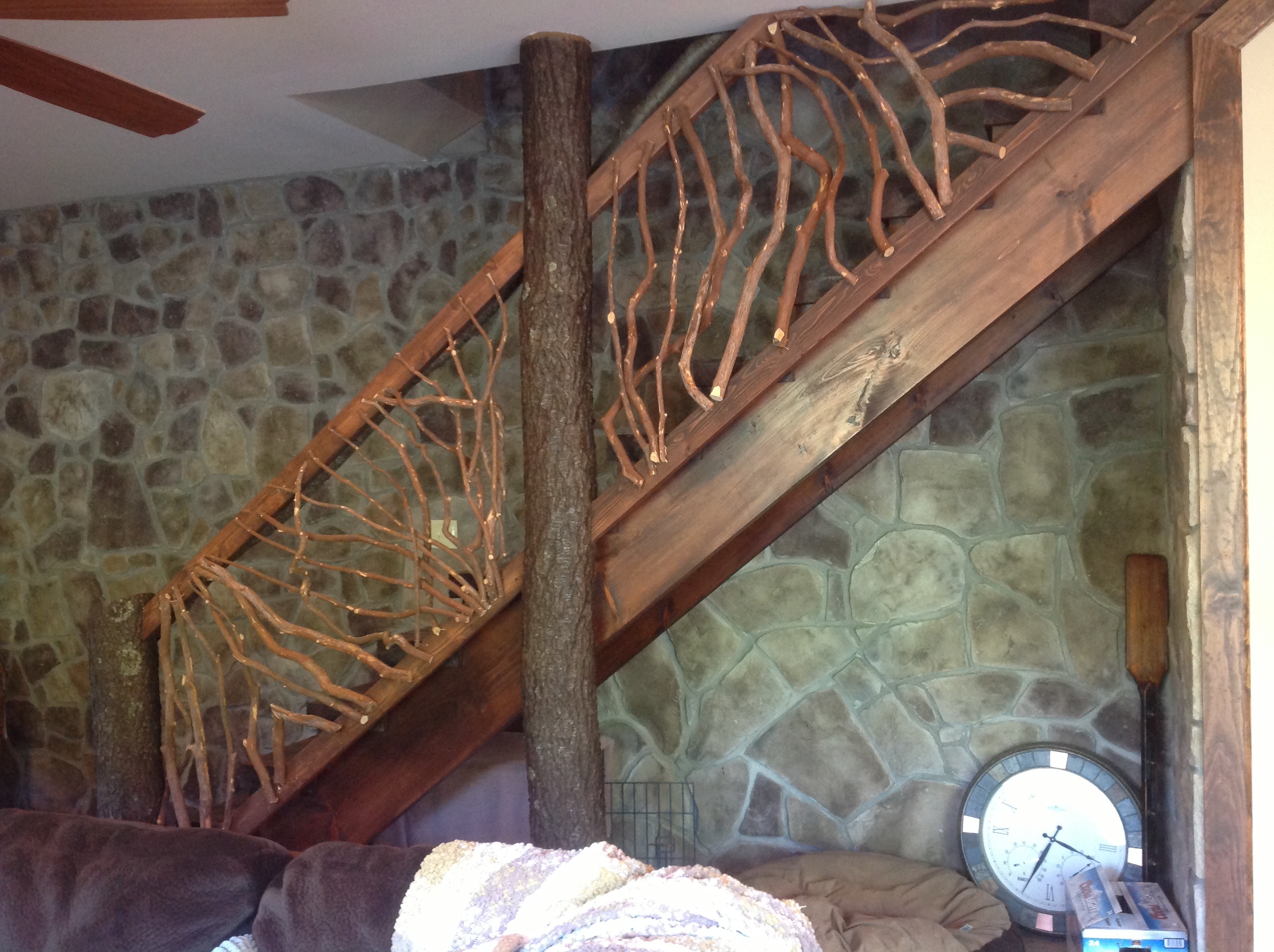 Mountain Laurel Railing Part 18