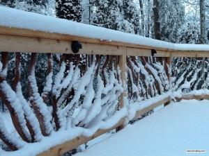 Snow Deck Railing