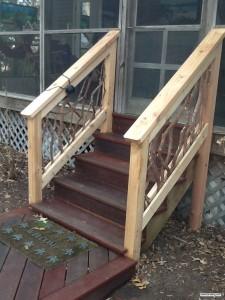 Stair Railing Spider