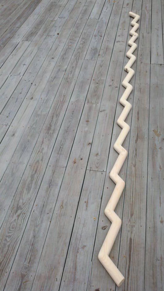 Wavy Stair Banister