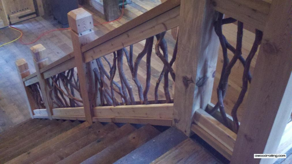 Mountain Laurel Railing Part 24