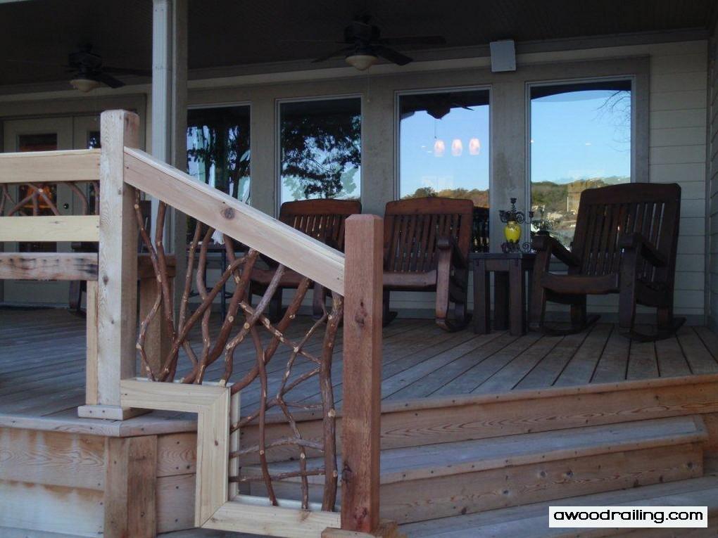 Mountain Laurel Railing Part 11