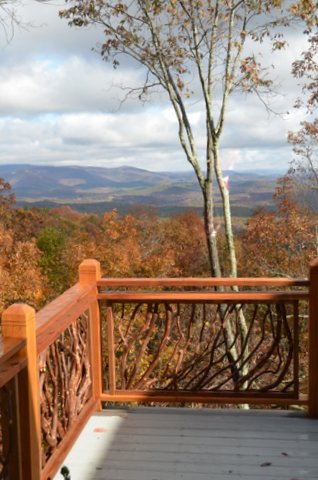 Mountain Laurel Railing